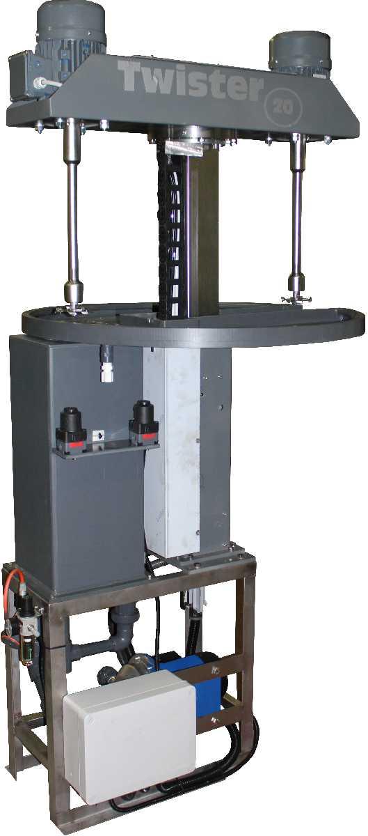 Twister 20 mixing machine