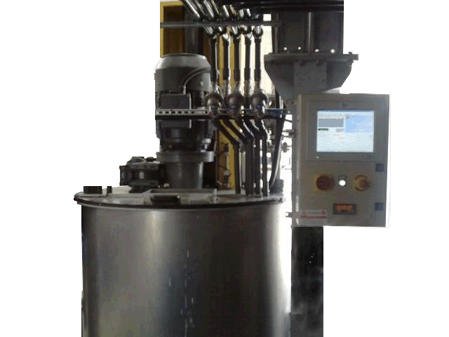 Automatic thickner preparator machine