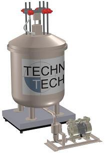 Barilotto di preparazione per prodotti ausiliari chimici