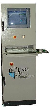 Quadro del controllore di dosaggio e miscelazione ricette (TT Dream 1024)