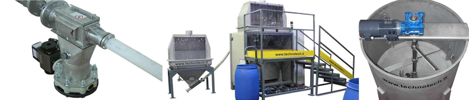 Preparatori automatici per paste creme e basi per stampa inkjet