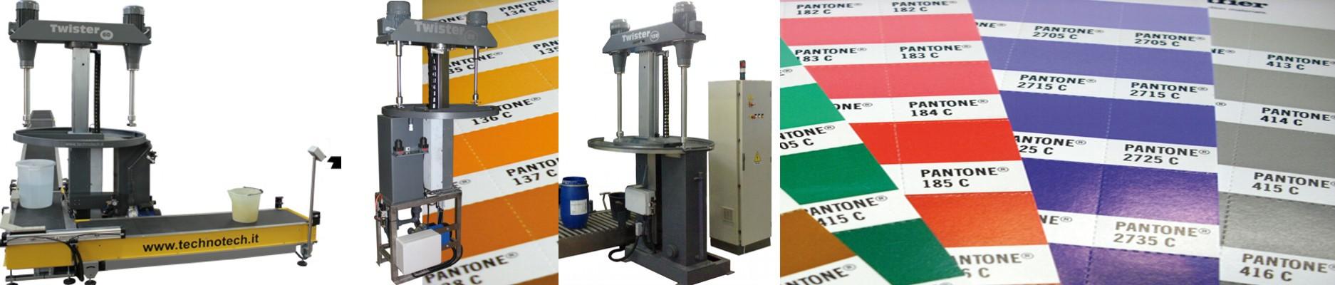 Miscelatori e sistemi di miscelazione automatica