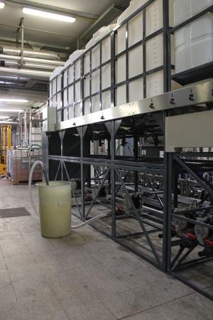 Stoccaggio prodotti chimici e acidi concentrati
