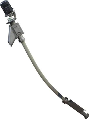 Traportatore flessibile per polveri e granuli