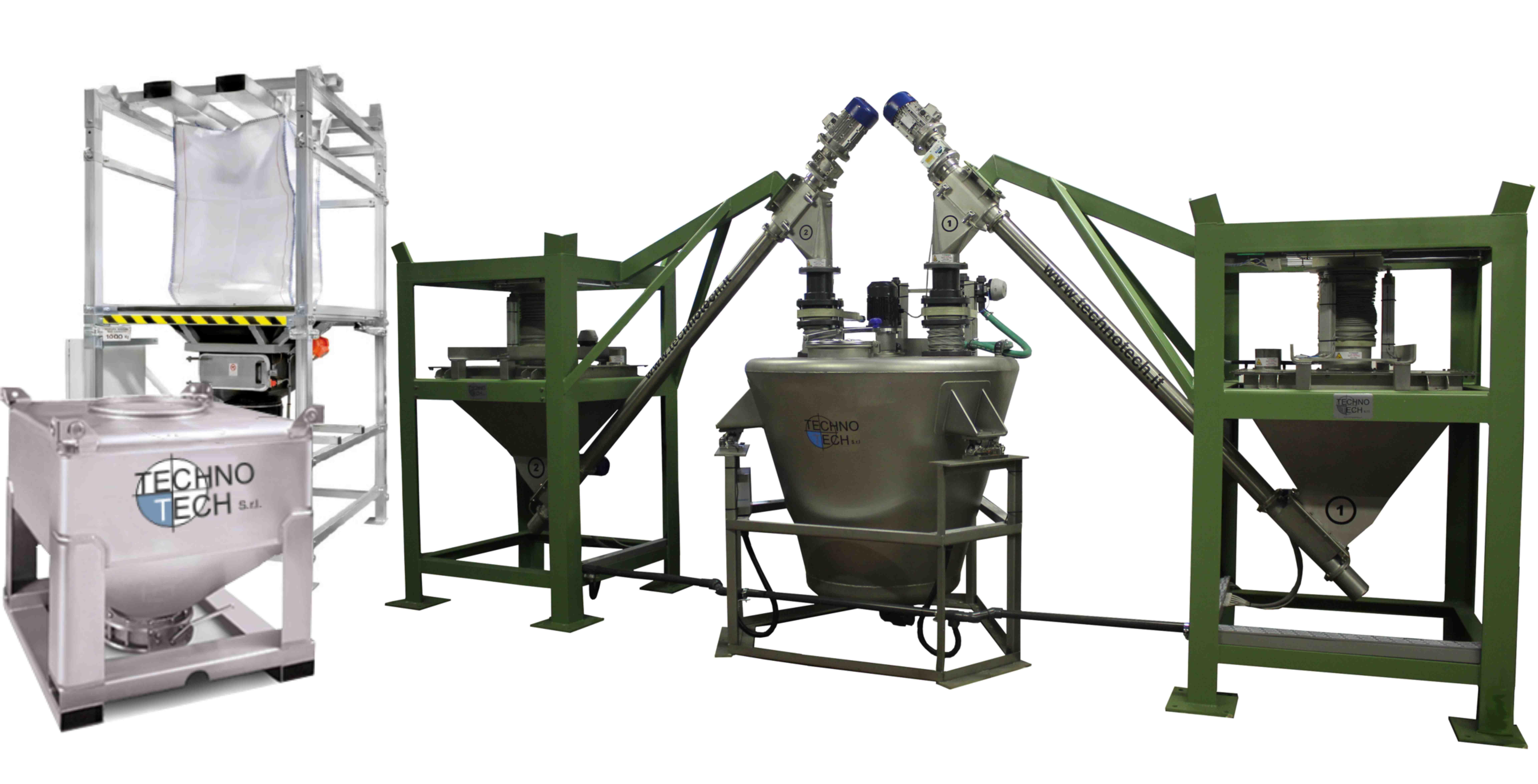 impianti automatici per il dosaggio idrosolfito nella preparazione dei bagni di riduzione